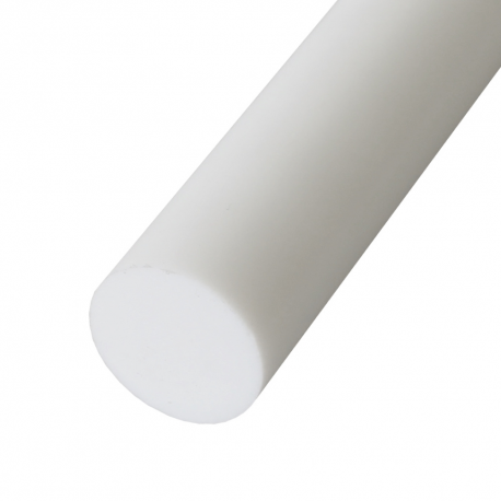 PTFE fluoroplastas (20x1000 mm) baltas (IT)